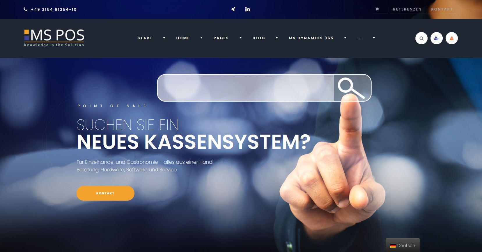 News: Neue Webseite
